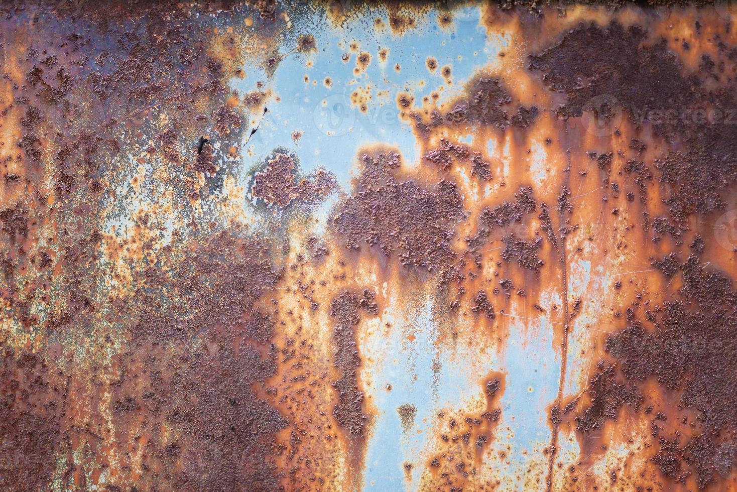 superficie de metal multicolor foto