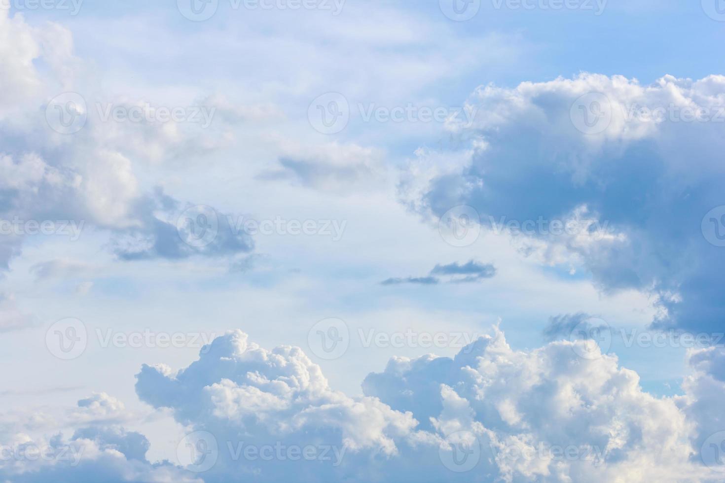 fondo de cielo azul foto