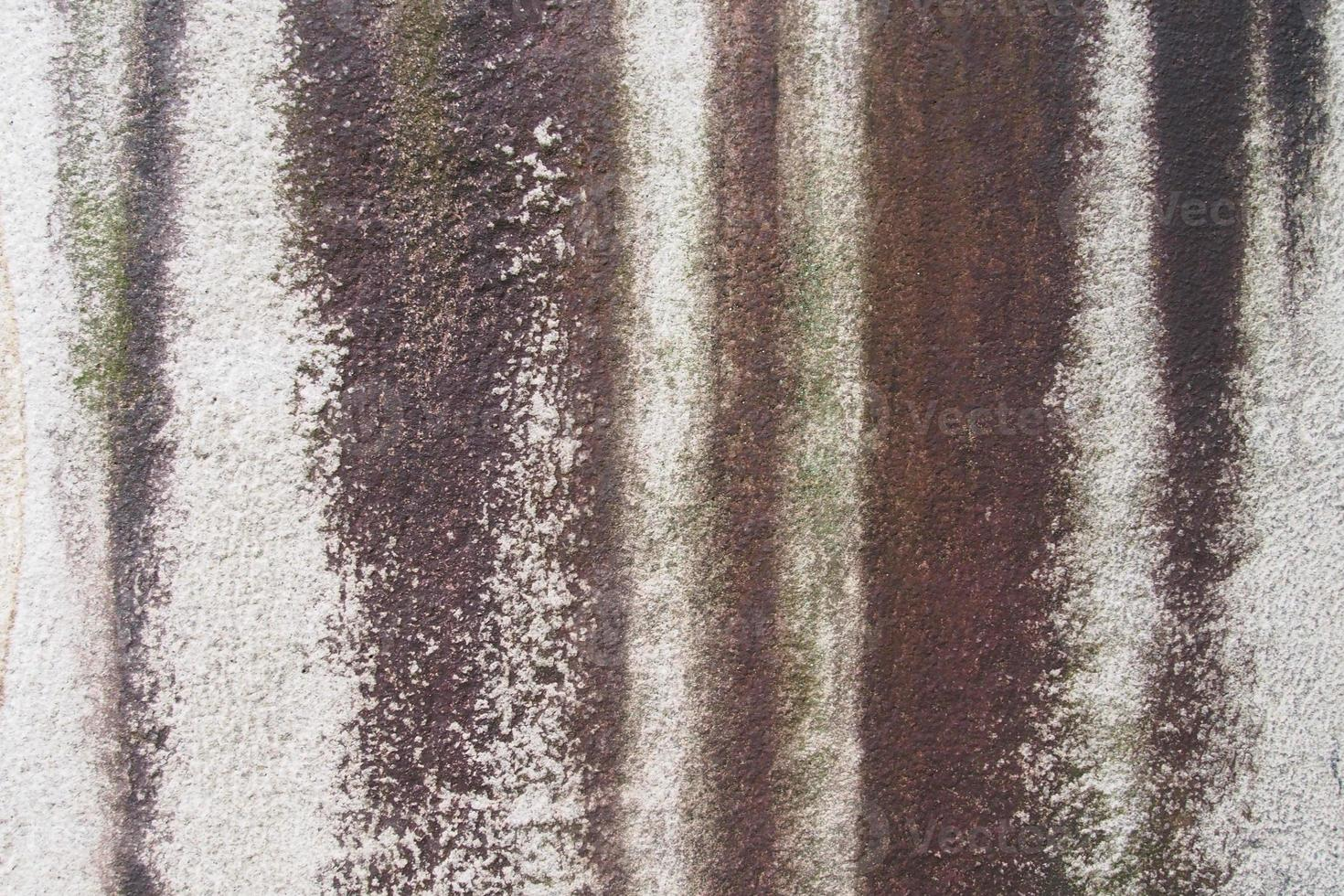 Stained on stone wall photo