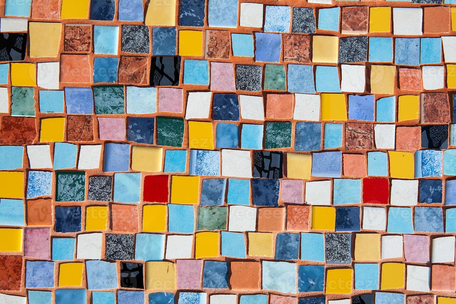 ceramic tiles wall decoration photo
