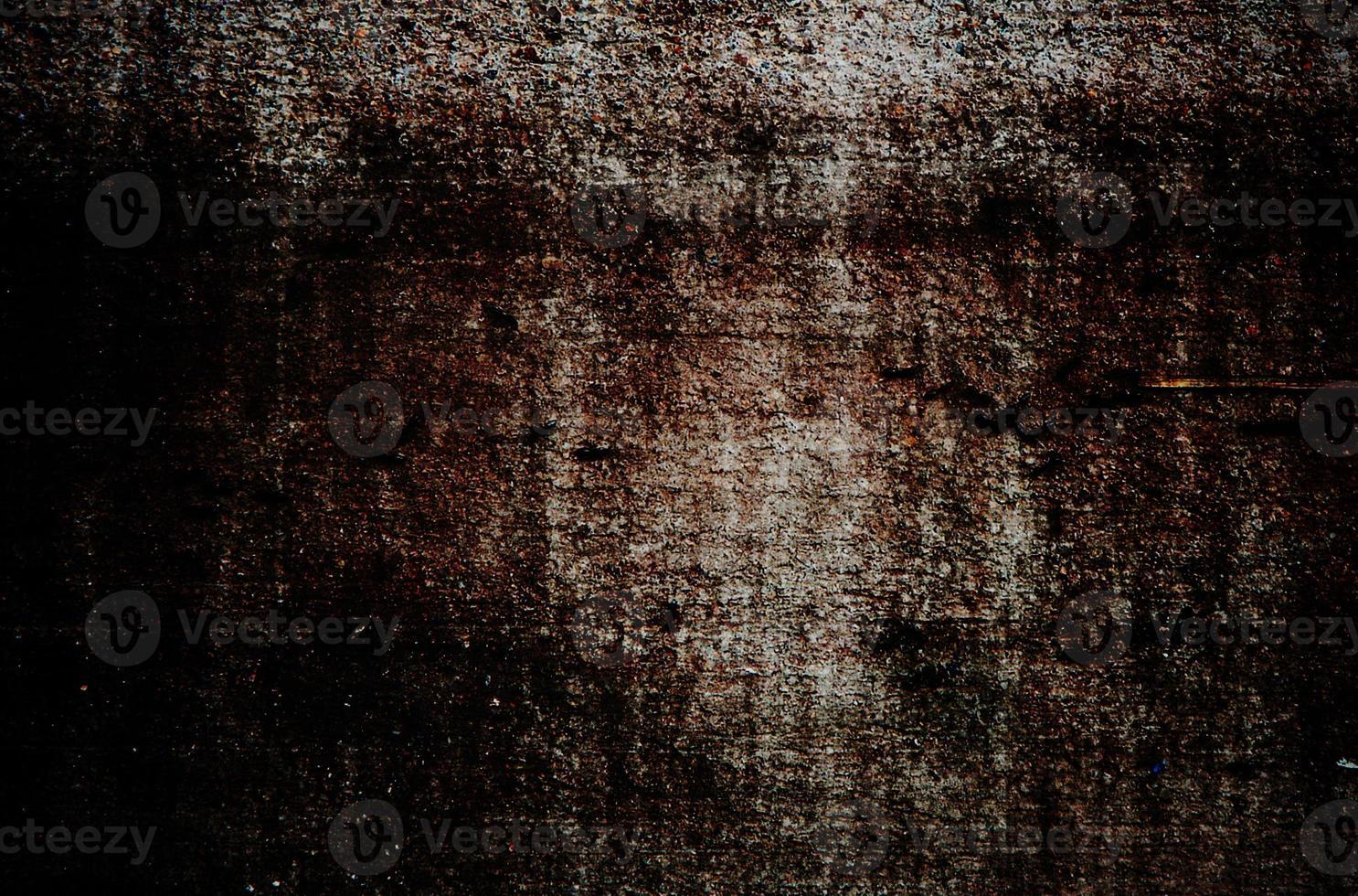 Textura de pared vieja grunge con viñeta foto