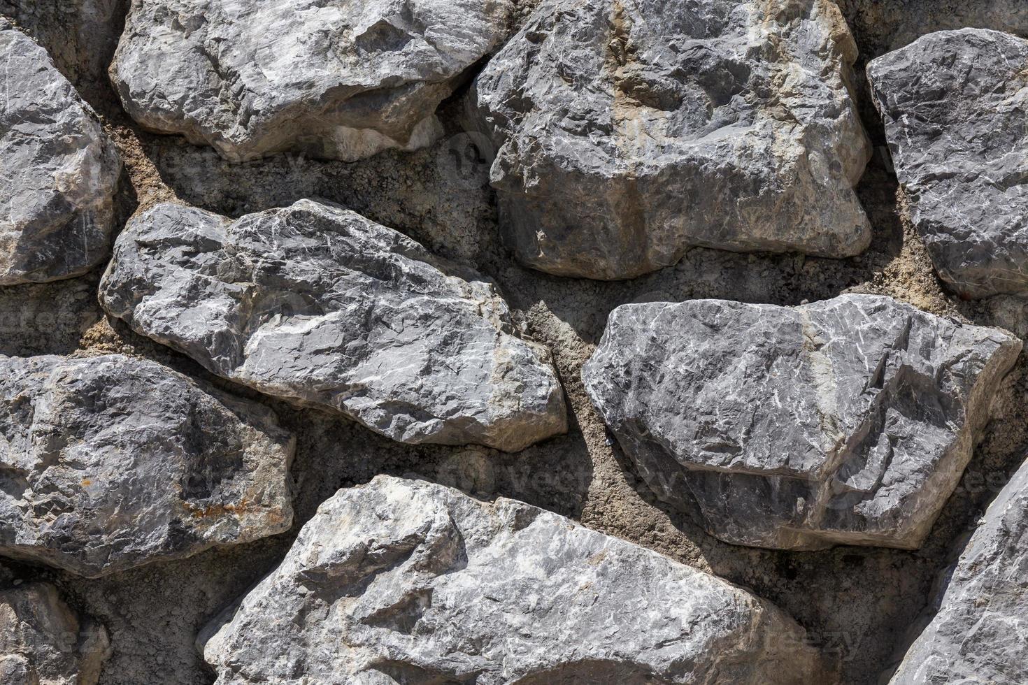 Pared de piedra foto