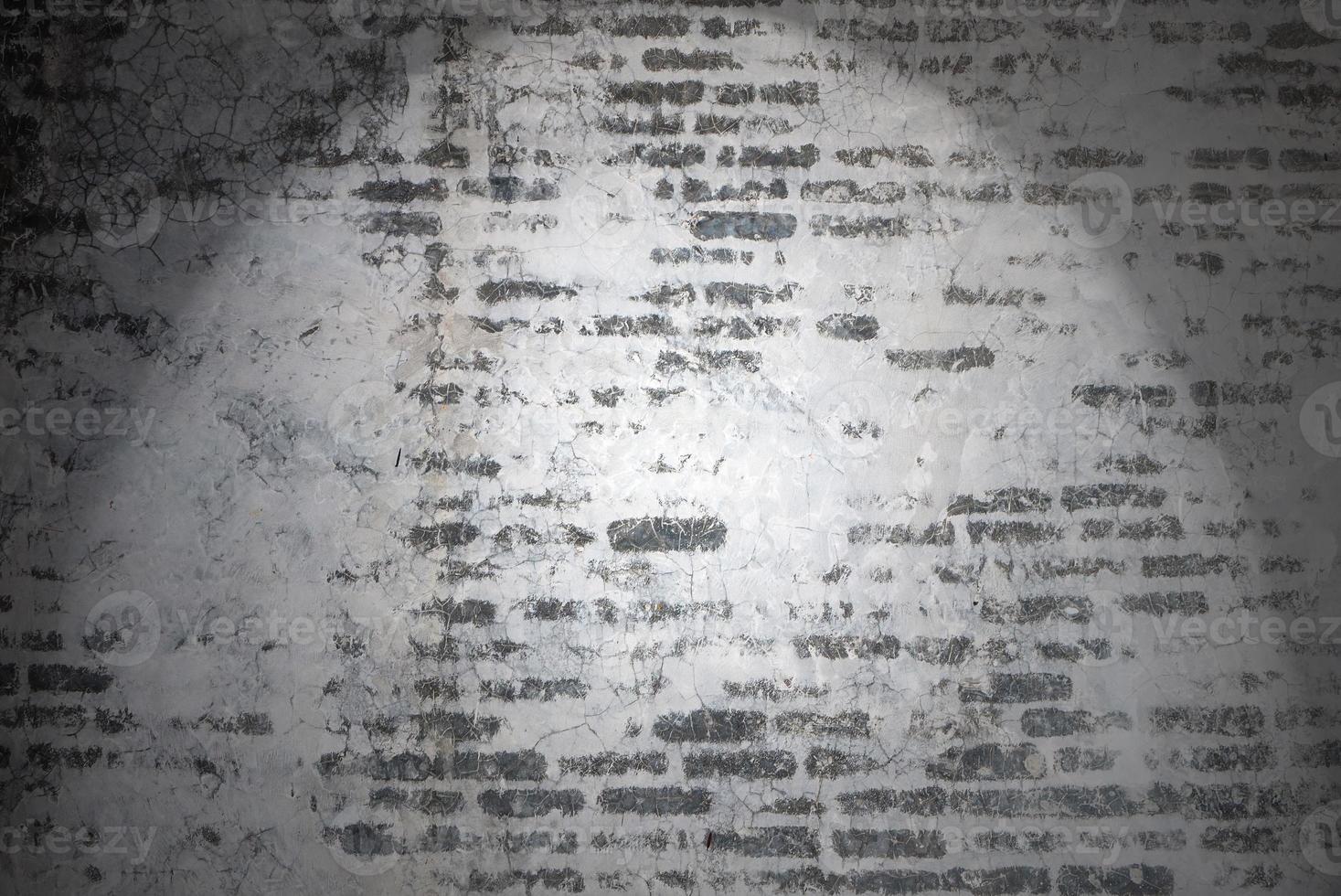 Fondo y texturas de la pared de ladrillo vintage foto