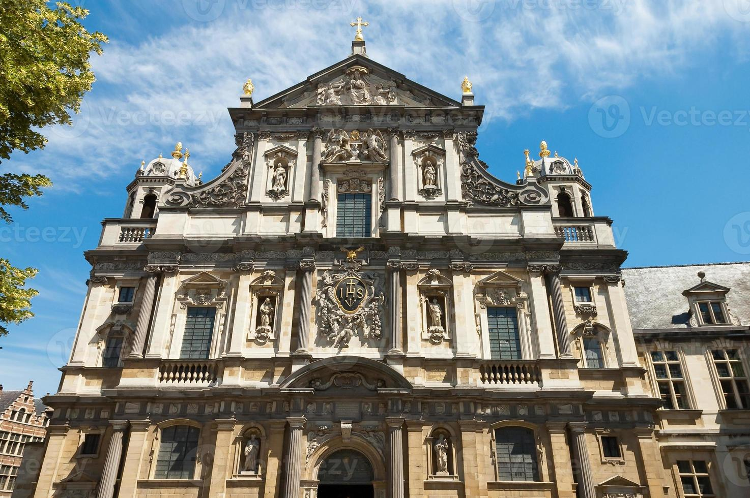 Carolus Borromeus Church in Antwerp, Belgium photo