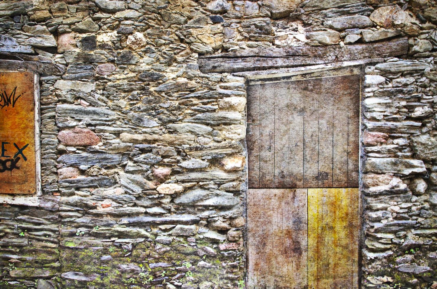 antigua muralla foto