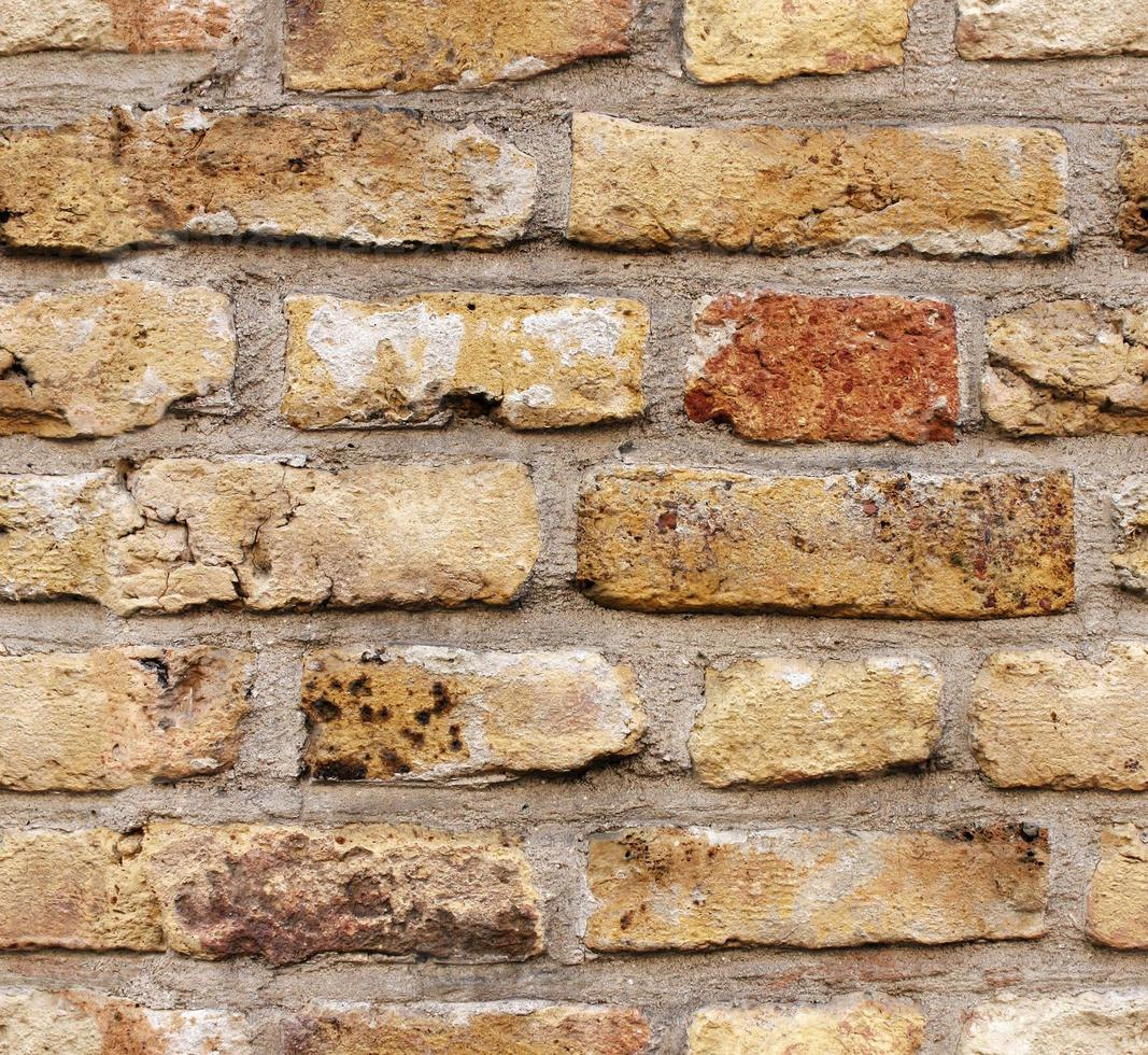Seamless texture of brick wall photo