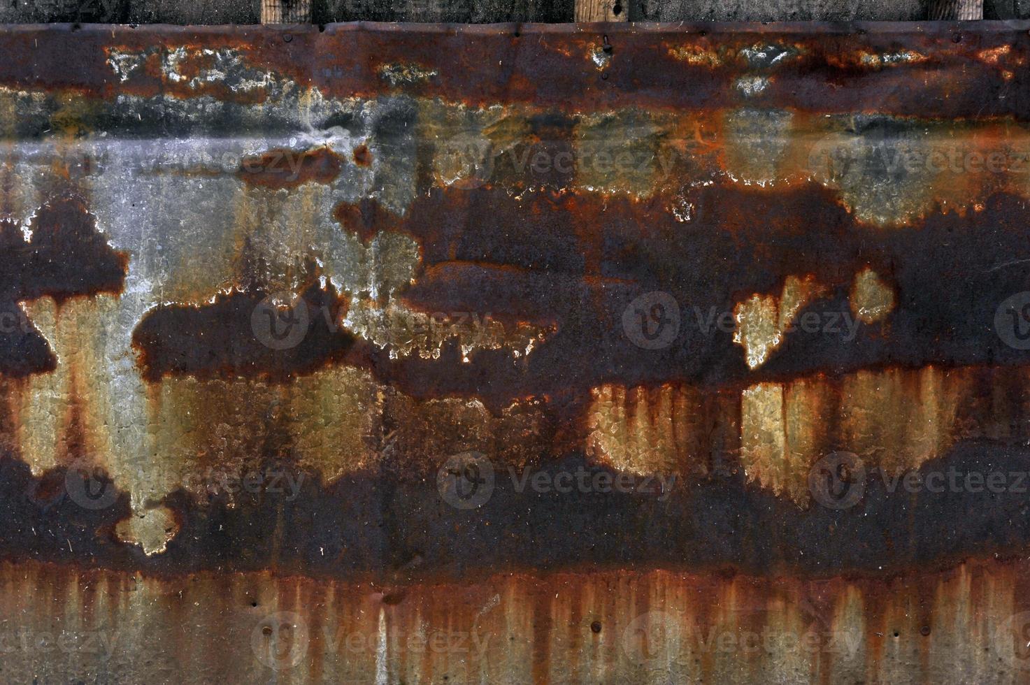 textura de metal oxidado foto