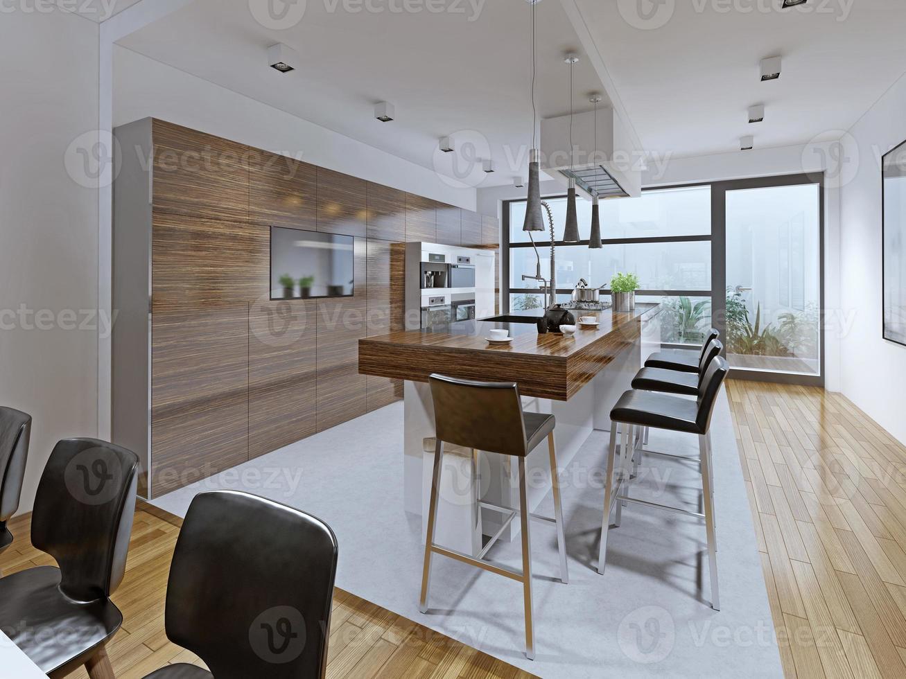 keuken high-tech stijl foto