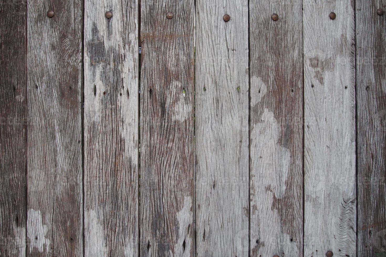 rustic timber wall photo