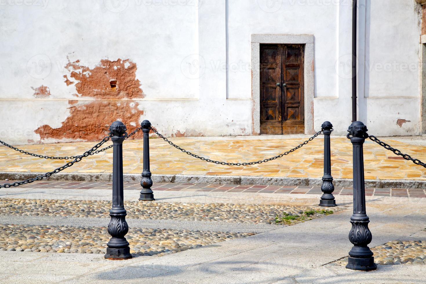 rue santo antonino lombardie italie varese résumé photo