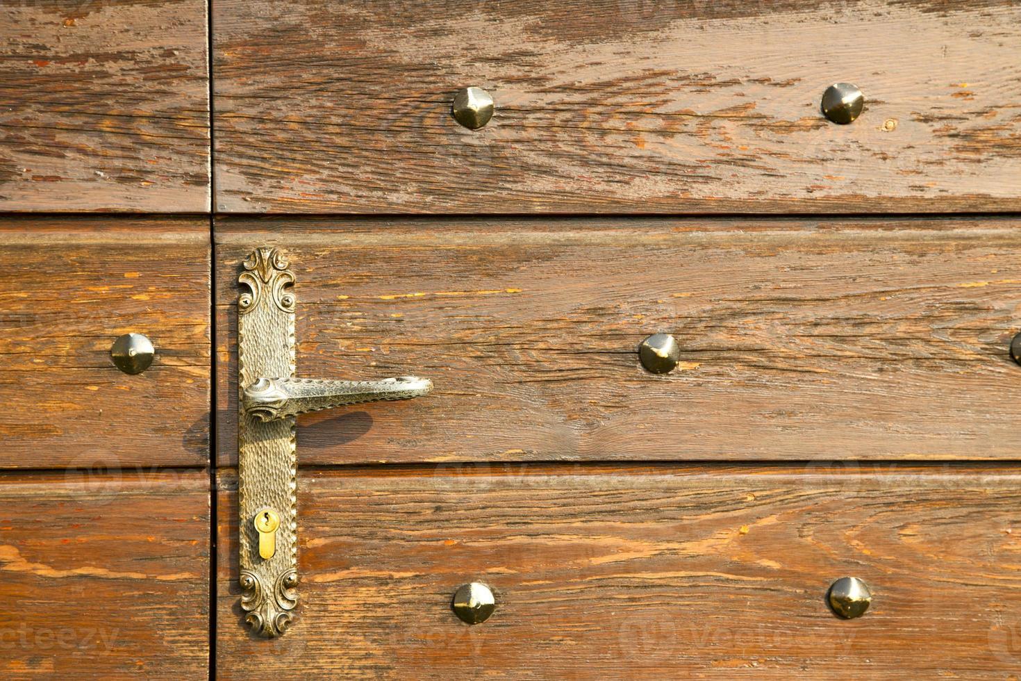 capronno abstracto latón oxidado foto
