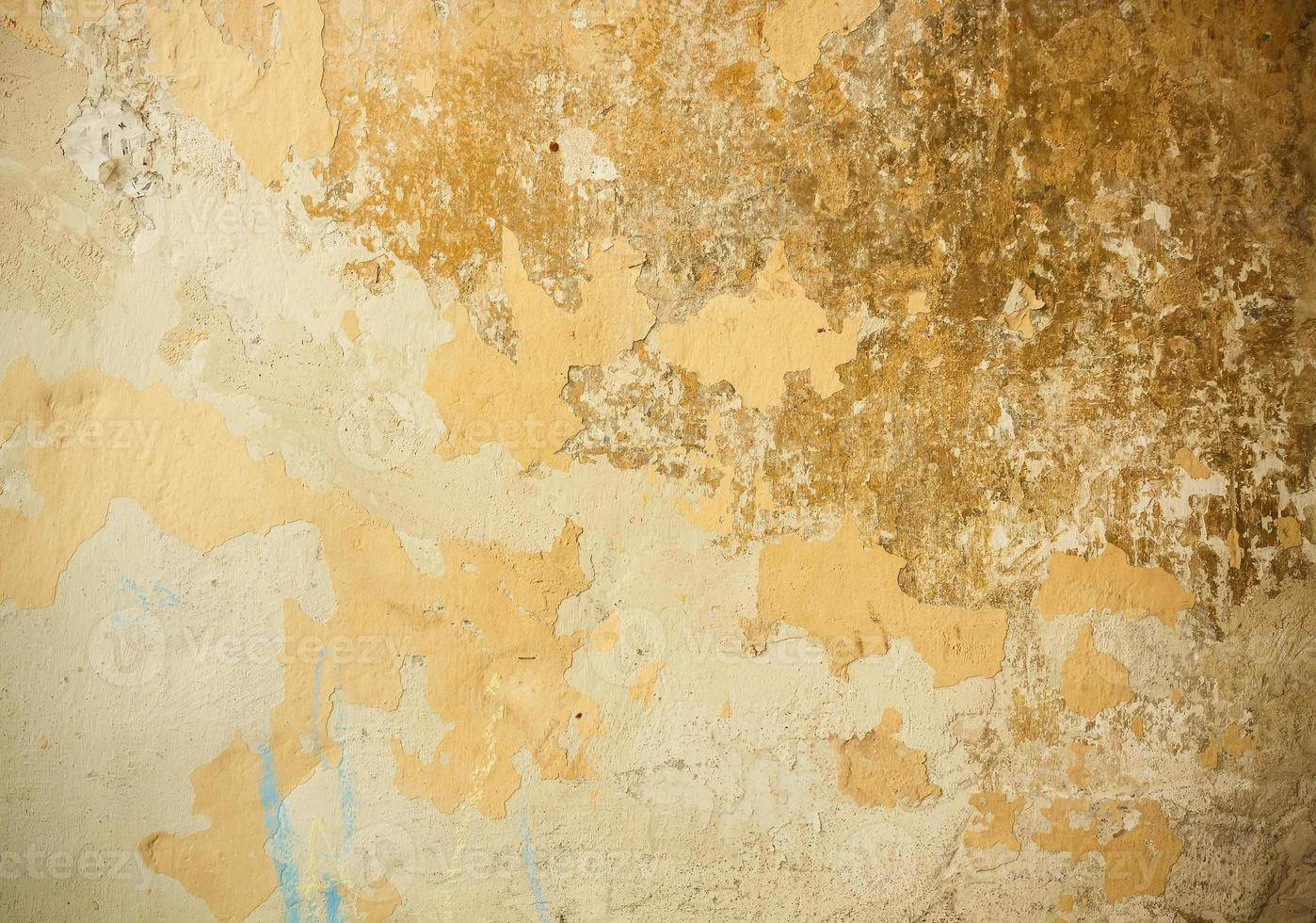 pared de yeso antiguo foto