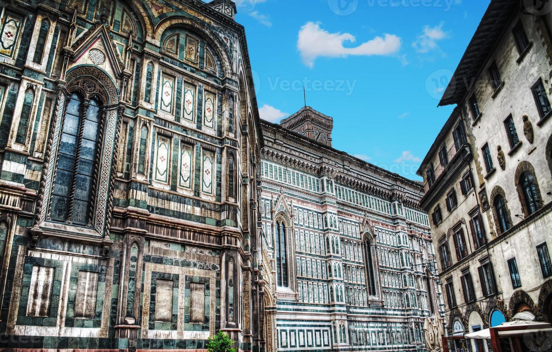 Santa Maria del Fiore cathedra in hdr photo