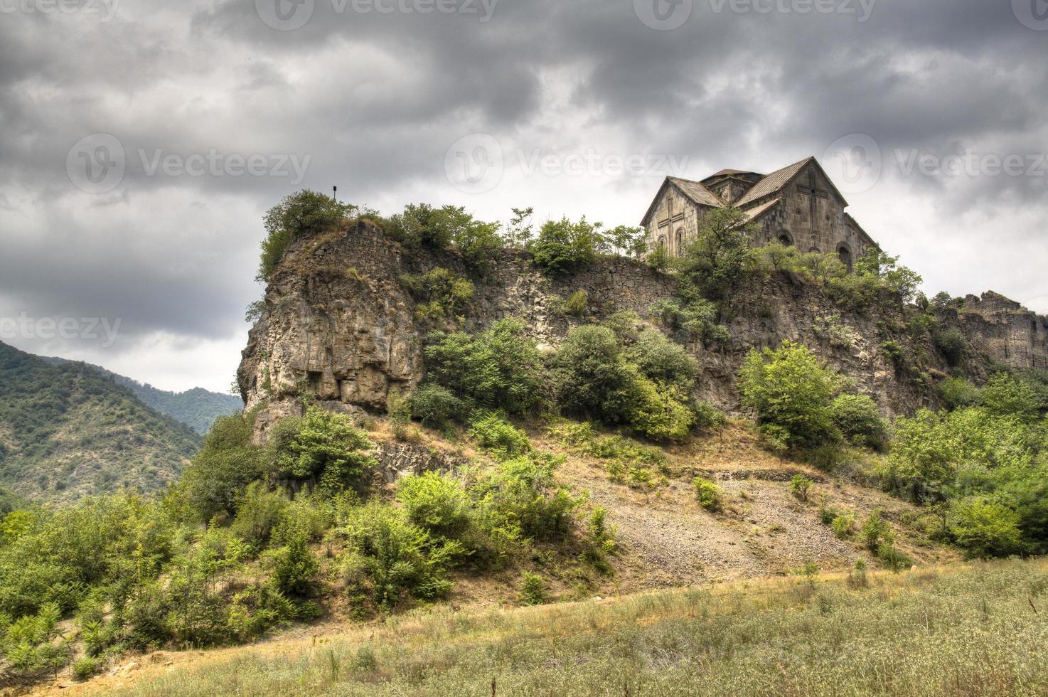 Akhtala monastery photo