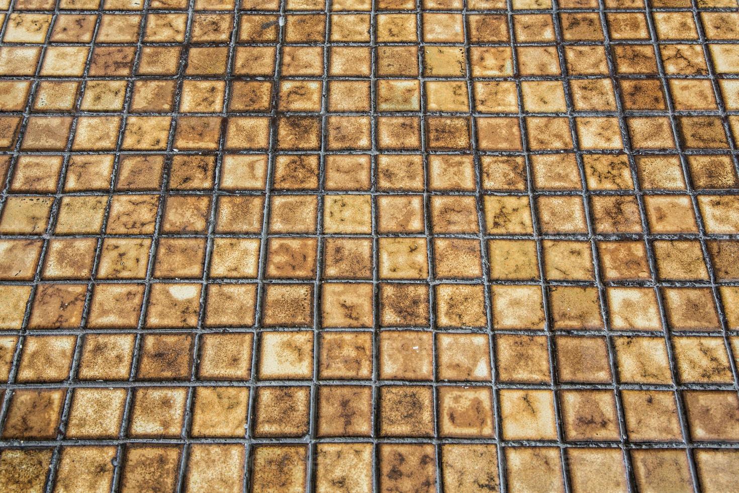 Grazed tiles background photo