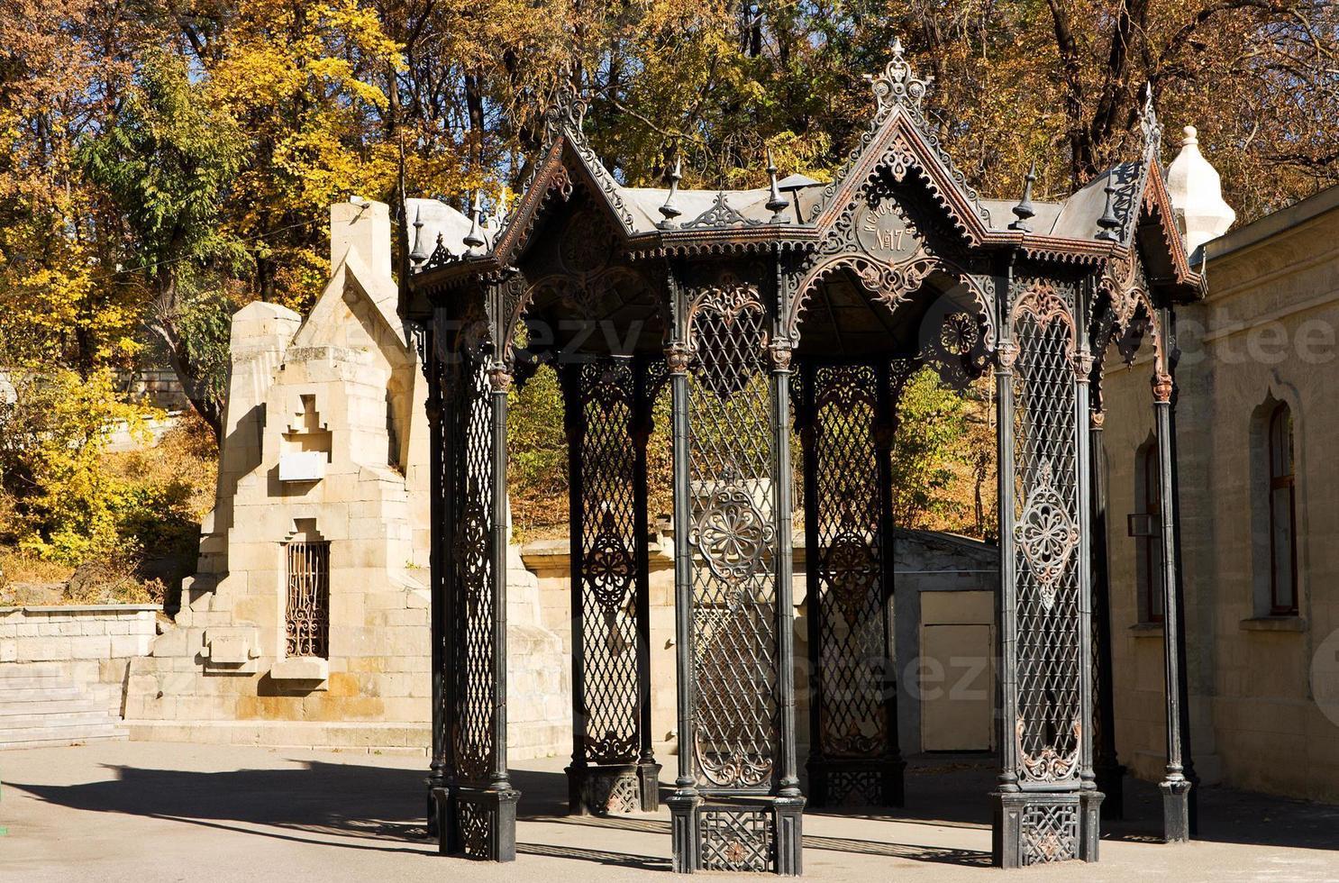 valla de hierro foto