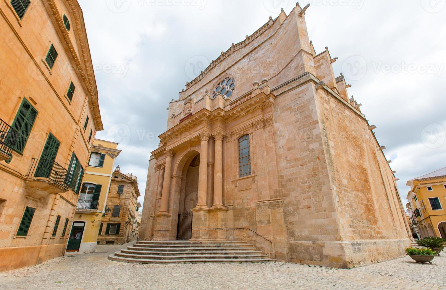 Ciutadella Menorca Cathedral at Ciudadela Balearic islands photo