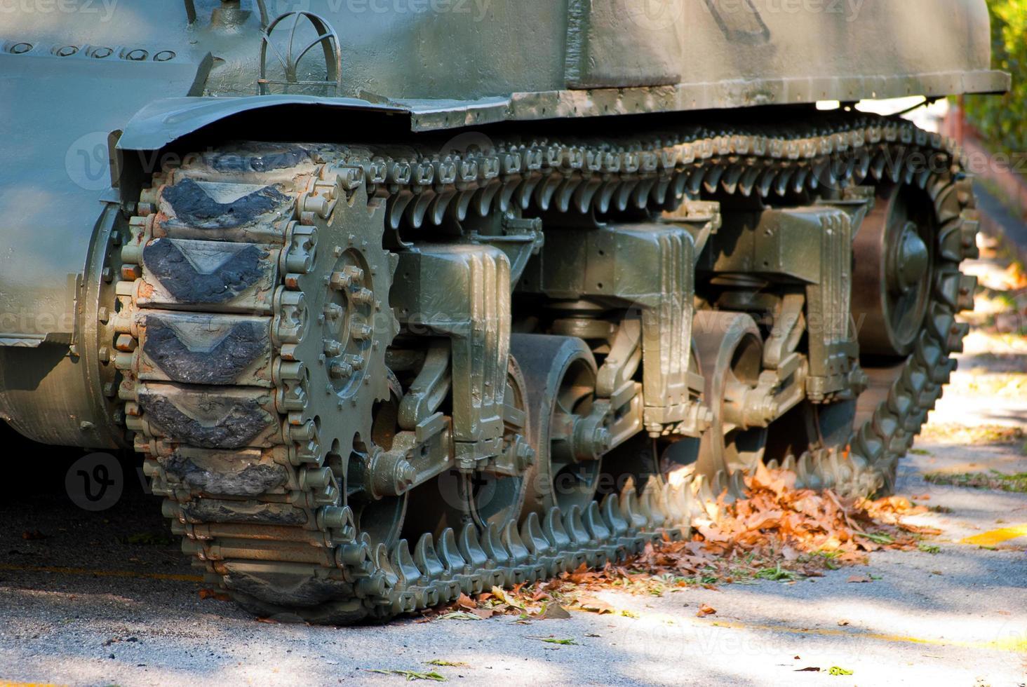 old Sherman tank photo