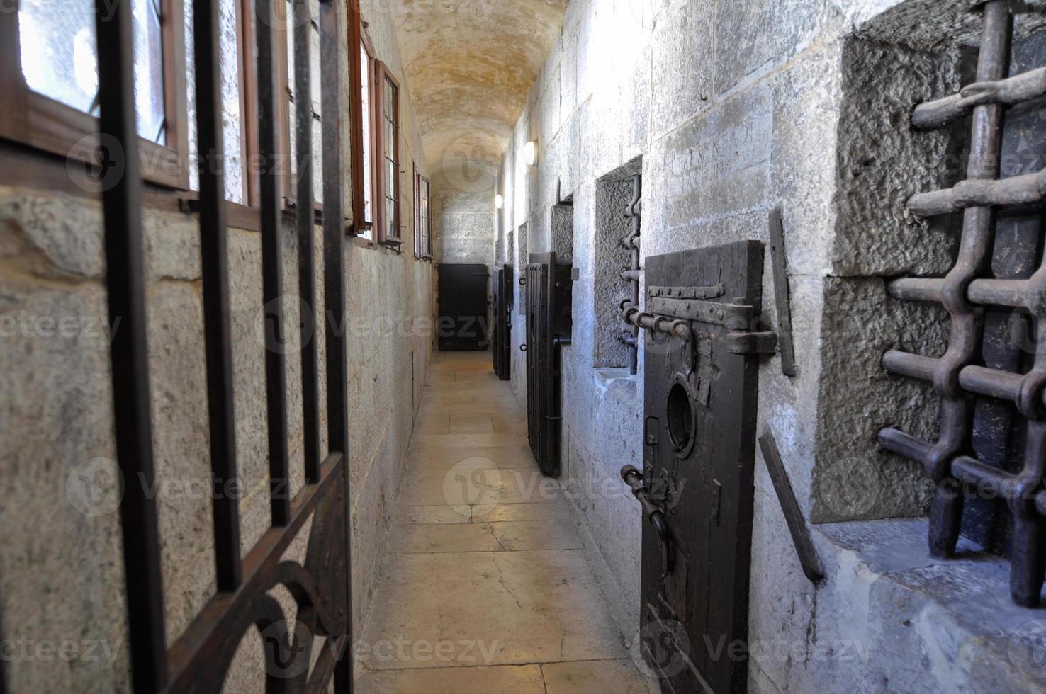 Venice - medieval presion locked door photo