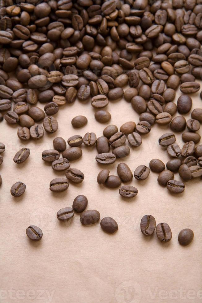café en un papel foto
