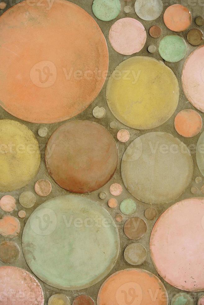fondo de textura geométrica pared de cemento foto