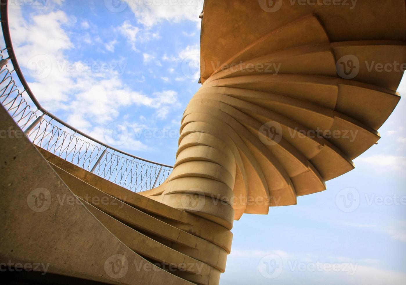 Staircase-tornado photo