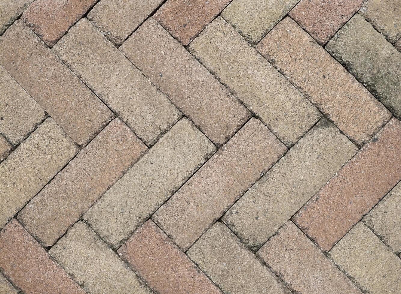Brick floor photo