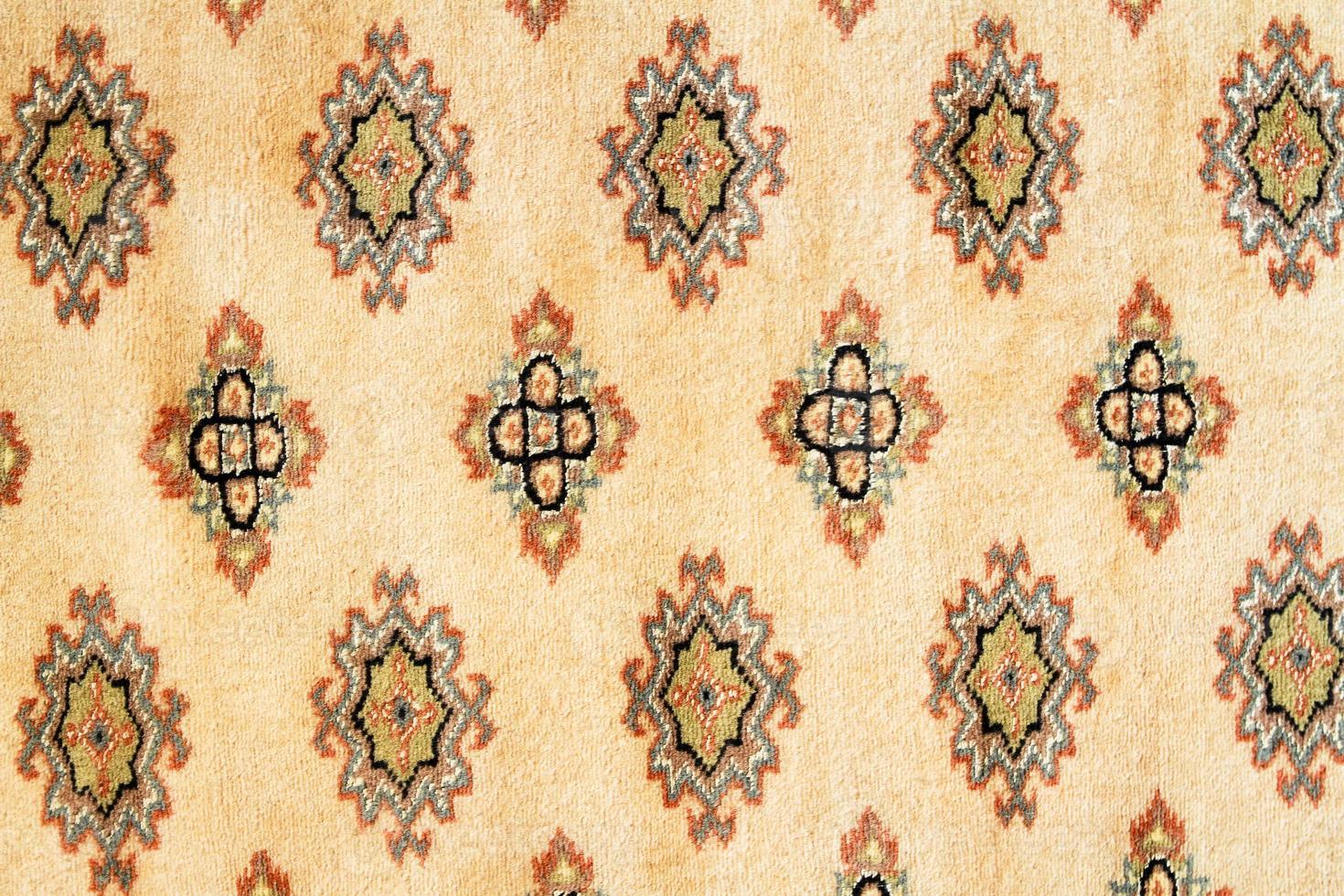 alfombra persa oriental foto