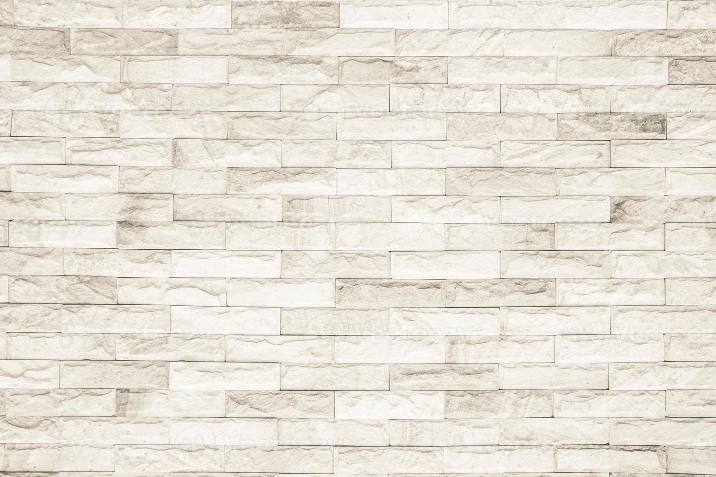 Fondo de textura de pared de ladrillo blanco y negro foto