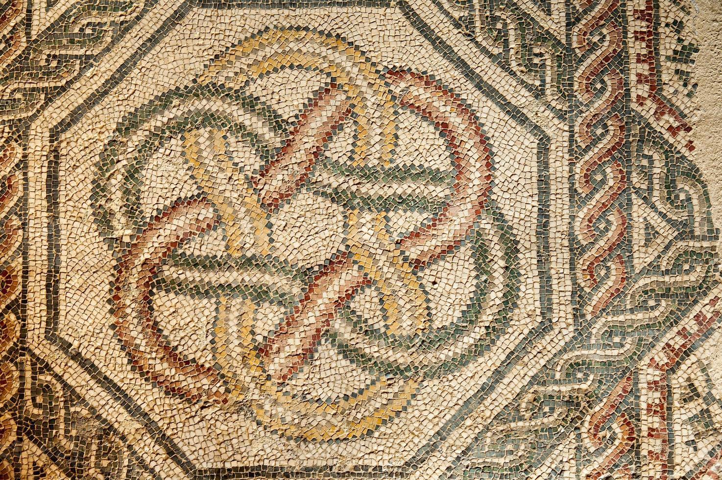 Roman mosaics photo