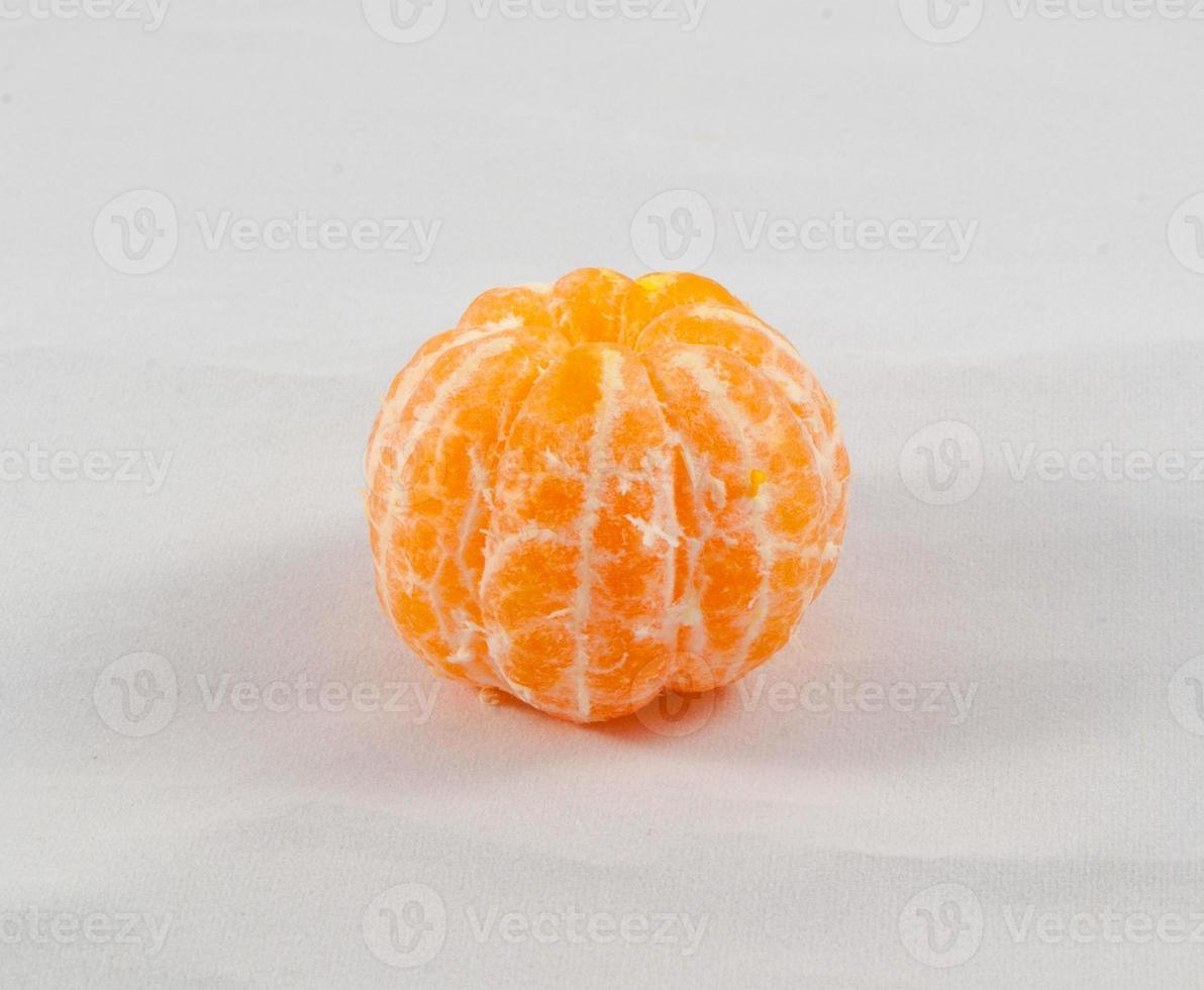 Foto de estudio de mandarinas