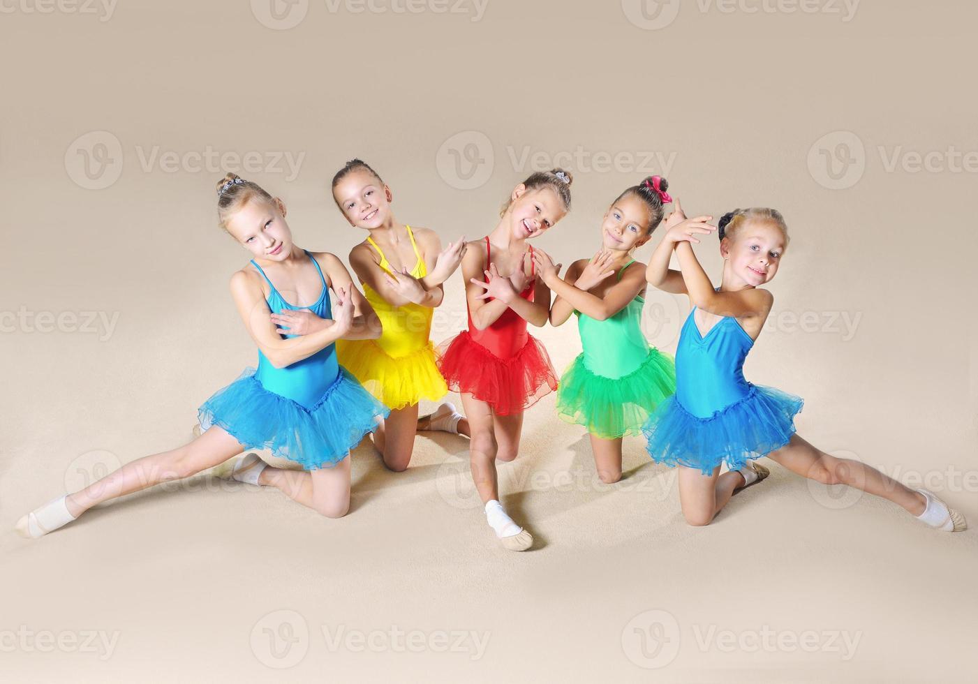 Beautiful ballet dancers photo