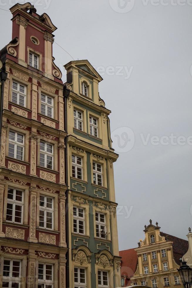 ciudad de wroclaw foto