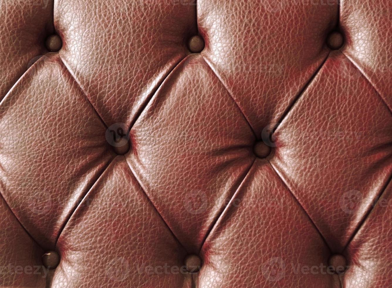 Genuine leather background for a luxury decoration in Brown tones photo