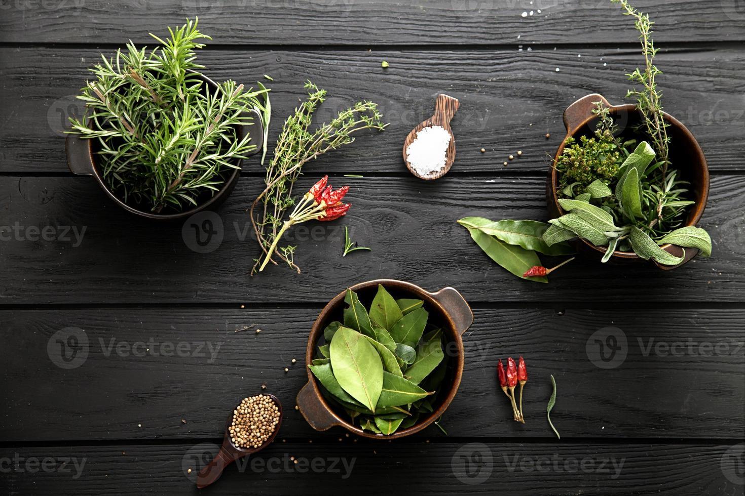 ingredientes mediterráneos foto