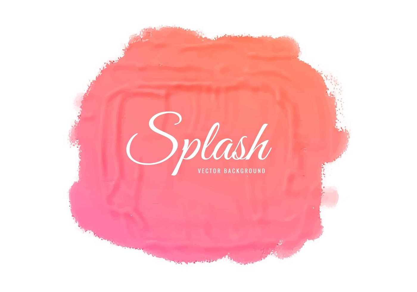 Abstract Pink Paint Texture Design vector
