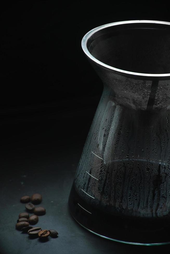 Pour over coffee photo