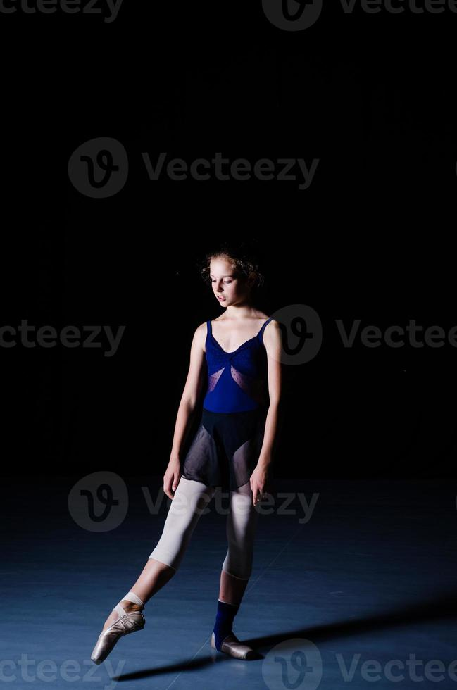 ballet dancer training performing photo