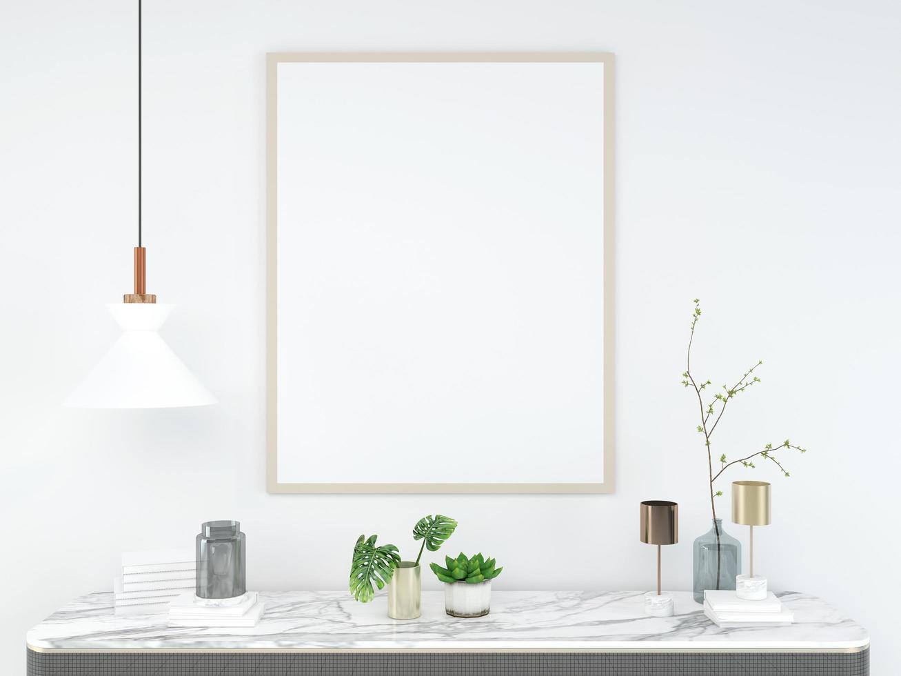interior de la sala de estar. 3d render fondo piso de madera pared de madera diseño de plantilla simulacro de espacio de copia foto