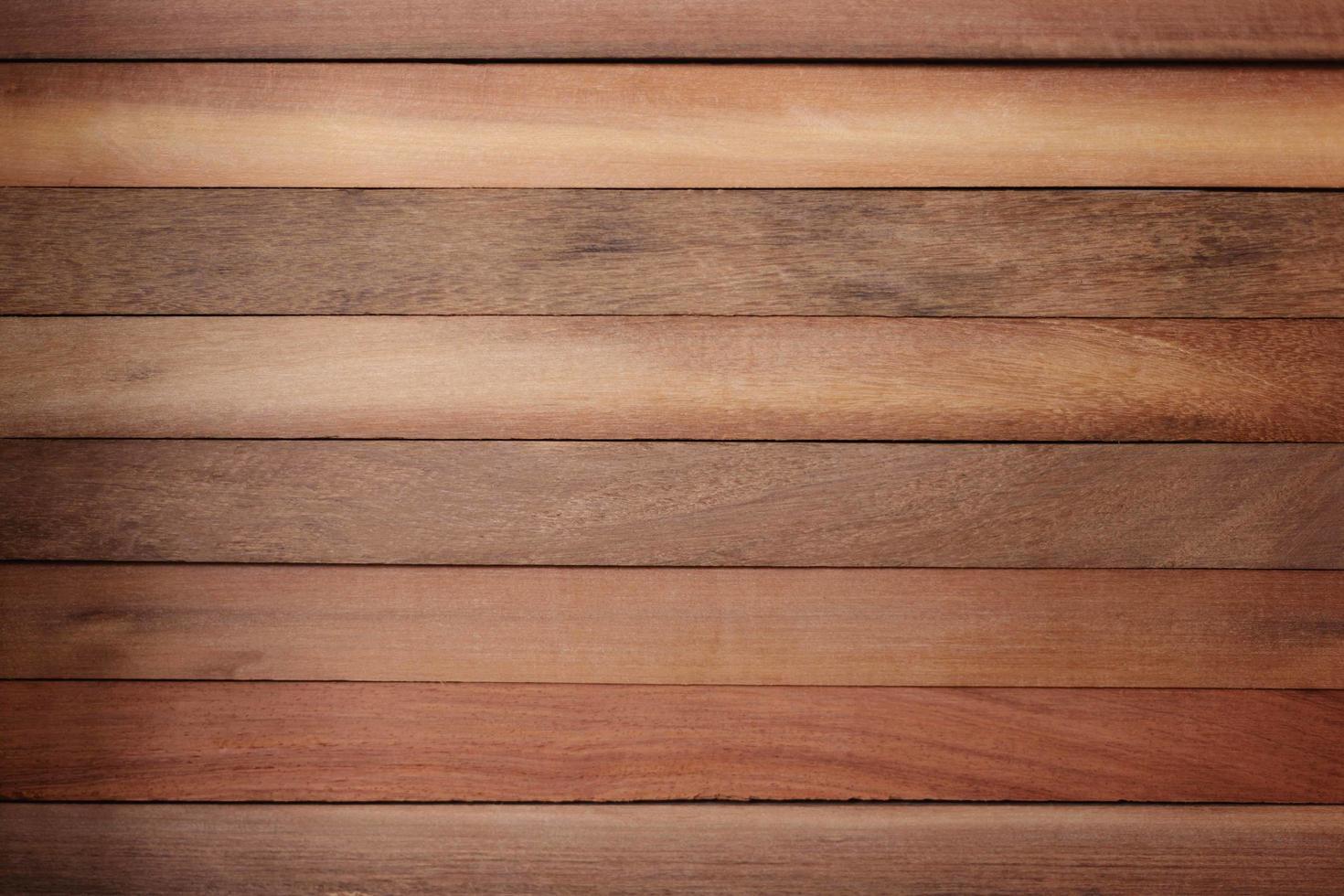 Top view of natural hardwood floor photo