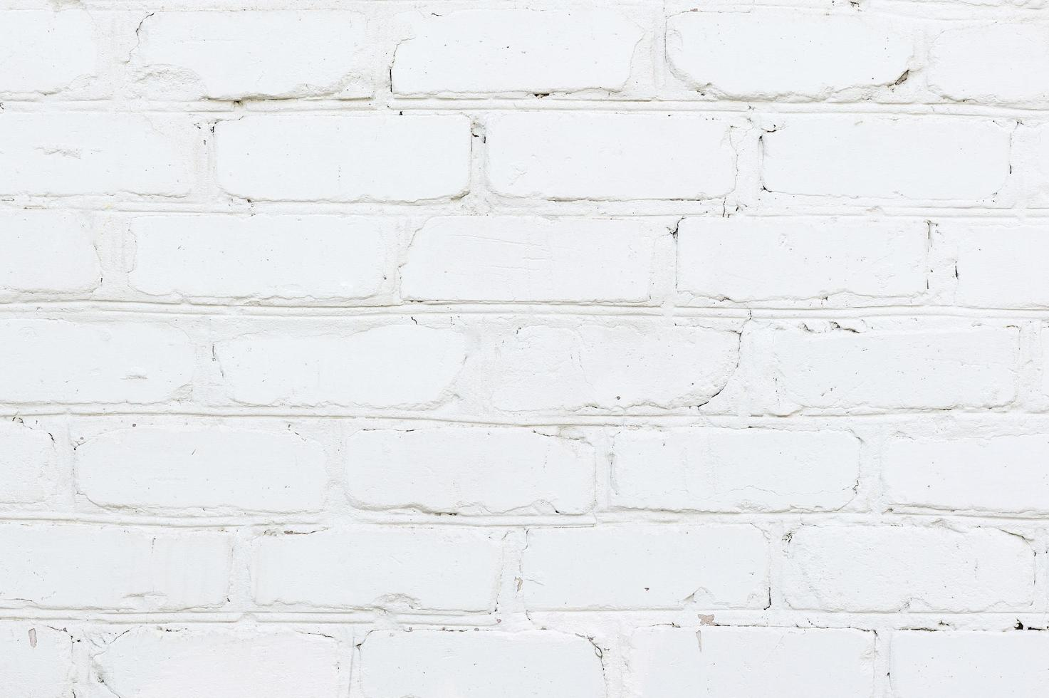 textura de pared de ladrillo blanco moderno foto