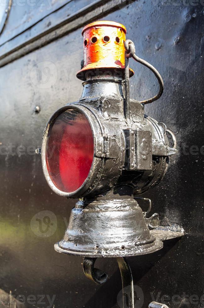 lampara roja foto