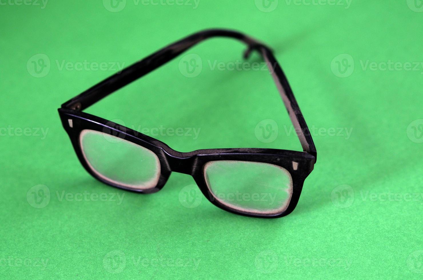 Black Plastic Glasses photo