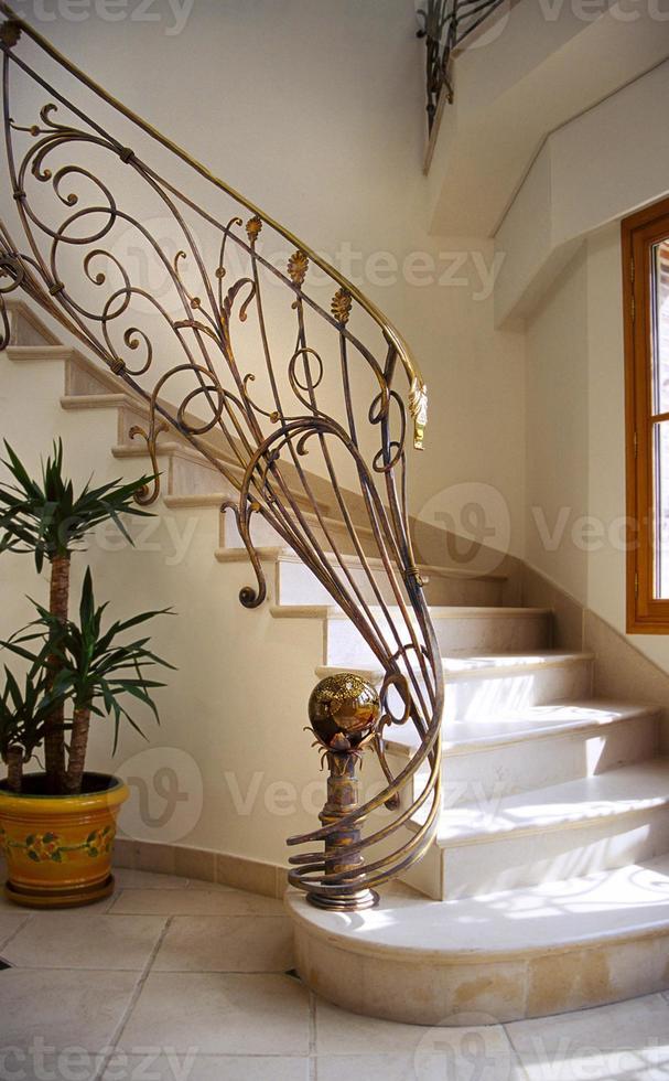 escalier de ferronnier foto