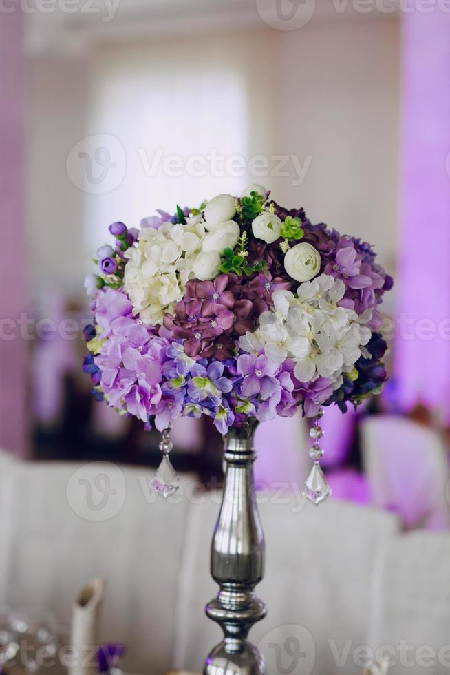 recepción de boda decoración comida foto