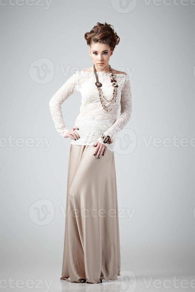 Fashionable beauty photo