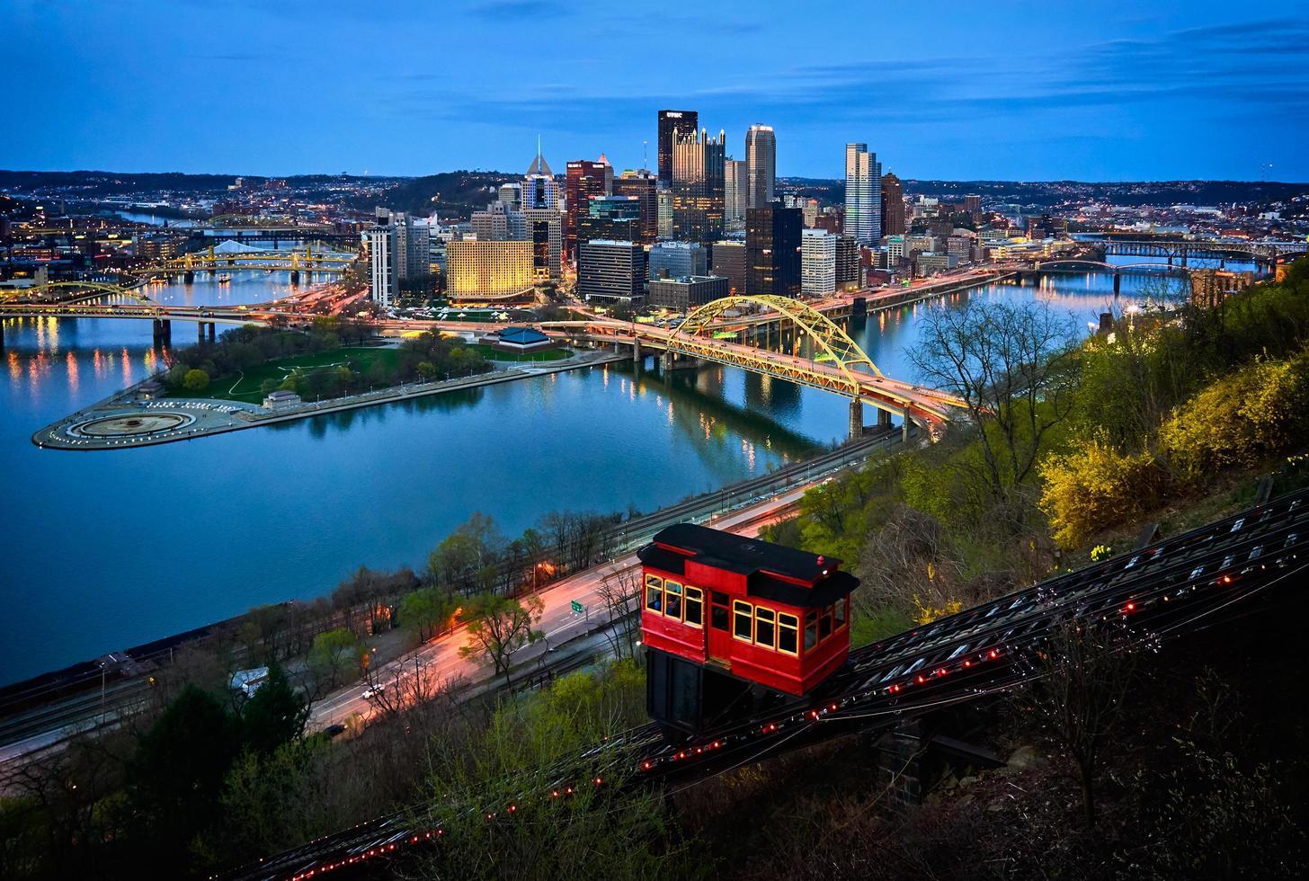 photo aérienne du paysage urbain