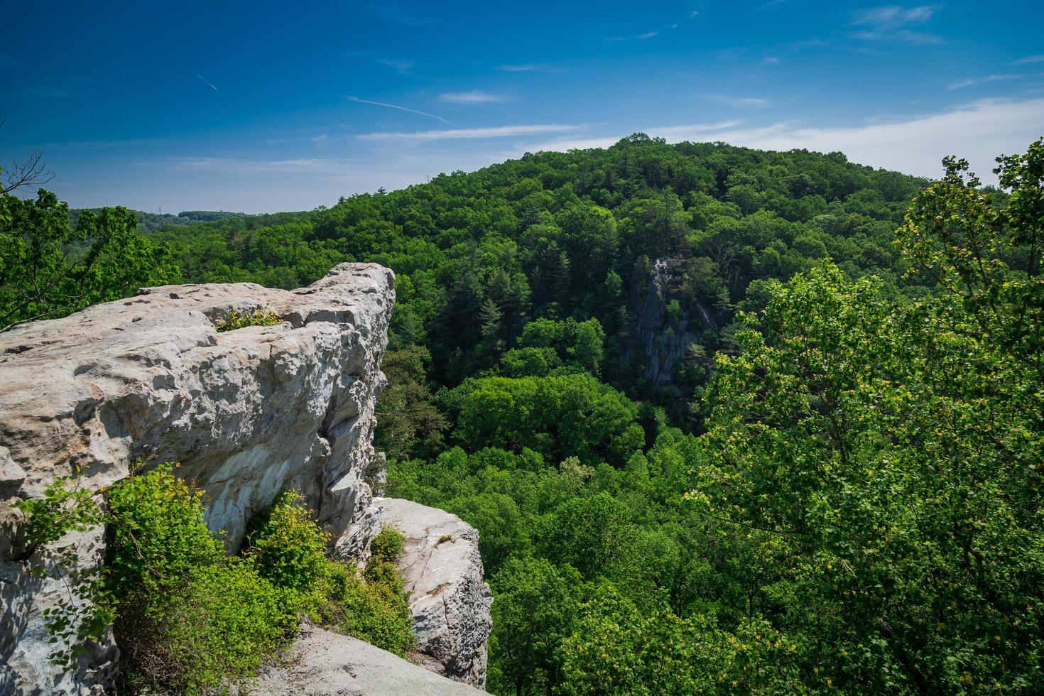 Rocks State Park in Maryland  photo
