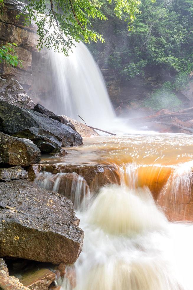 Douglas Falls in West Virginia photo
