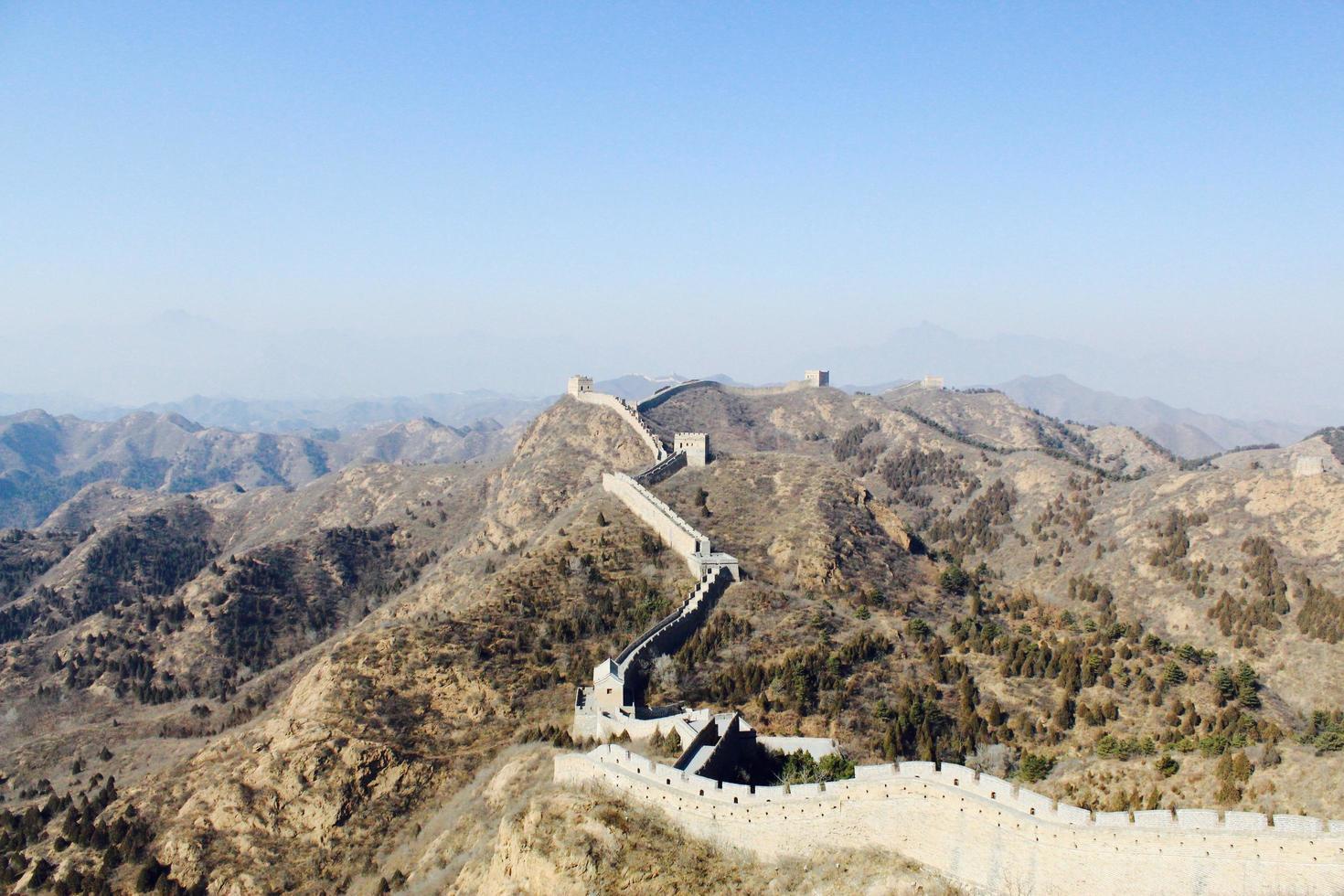 La Gran Muralla China foto